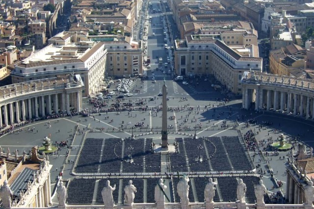 St Peter's Square at the Vatican