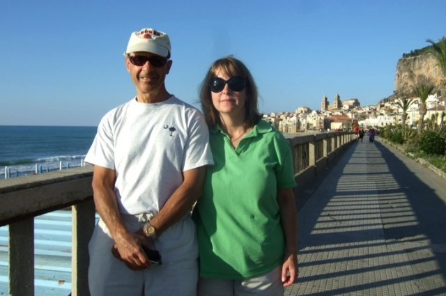 Rick and Monica in Cefalu