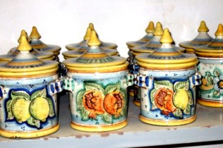 Ceramics in Catagirone Photo by Margie Miklas