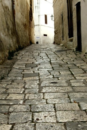 The walkways in Ostuni - Photo by Margie Miklas