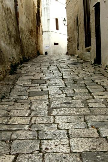 The walkways in Ostuni - Photo by Margie Miklas