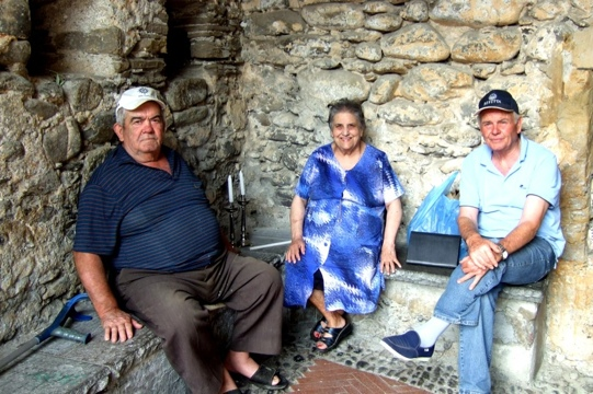 Dolceacqua residents Photo by Margie Miklas