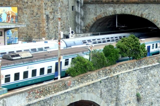 Regional Trains in the Cinque Terre