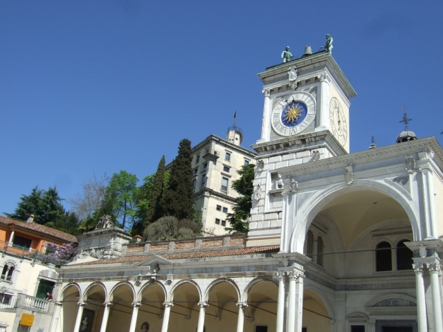 Clock Tower in Udine Photo by Margie Miklas
