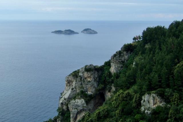 Li Galli islands in southern Italy