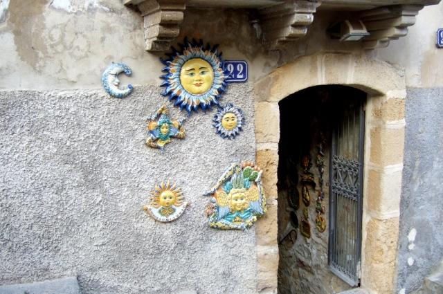 Ceramic shop in Caltagirone