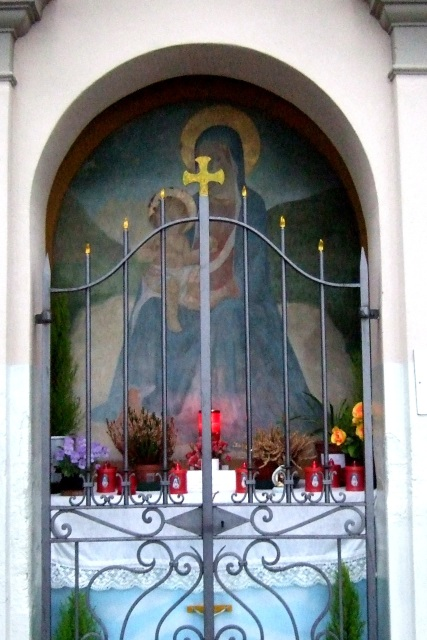 Shrine in Lenno on Lake Como