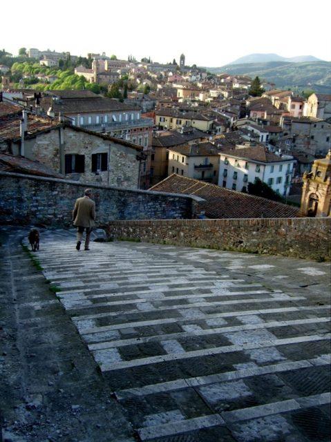 Perugia Centro storico photo by Margie Miklas
