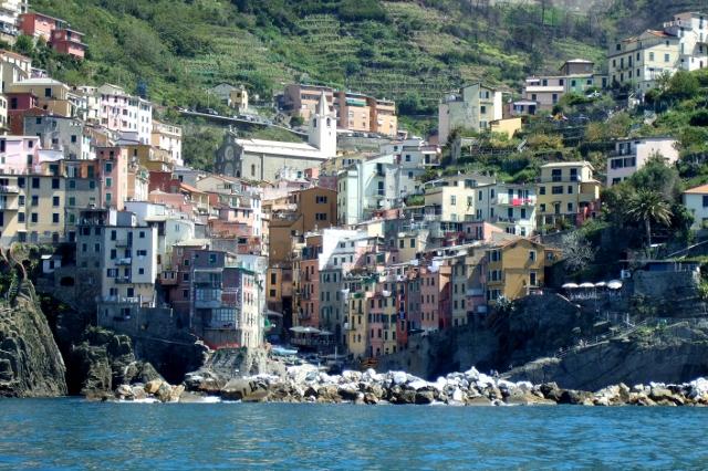 Riomaggiore in the Cinque Terre