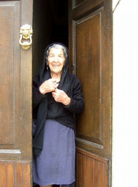 Woman in Longano Photo by Margie Miklas