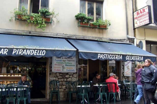 Bar Pirandello in Taormina