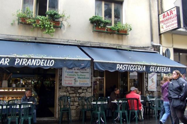 Bar Pirandello in Taormina