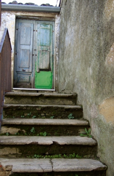 Doorway and stairs in Cesaro` Sicily photo by Margie Miklas