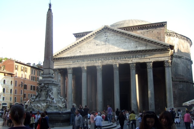 Pantheon in Rome - Photo by Margie Miklas