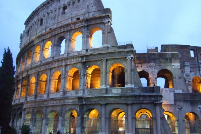 Colosseum Photo  by Margie Miklas