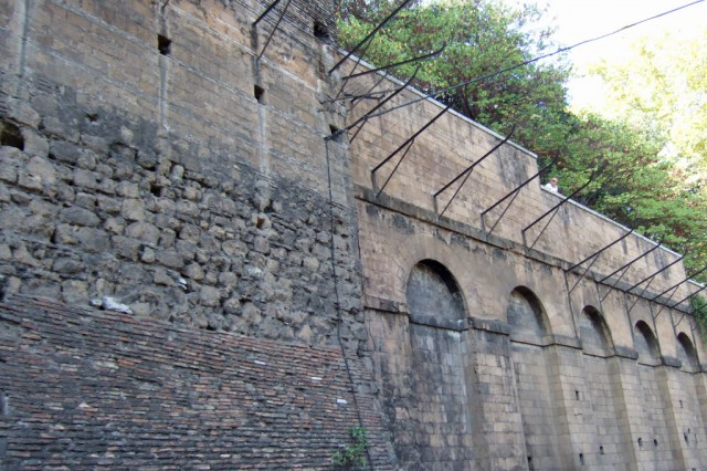 Ancient walls of Rome
