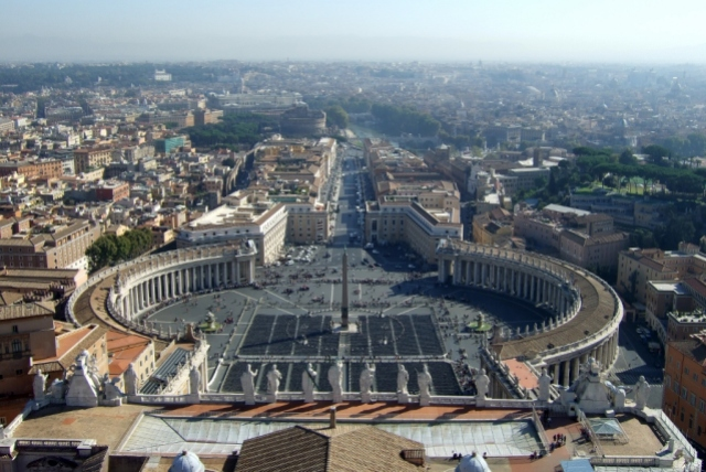 View from the Top of St Peter's