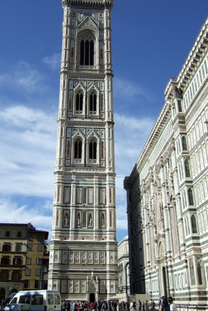 Florence's Campanile - Giotto's Bell Tower