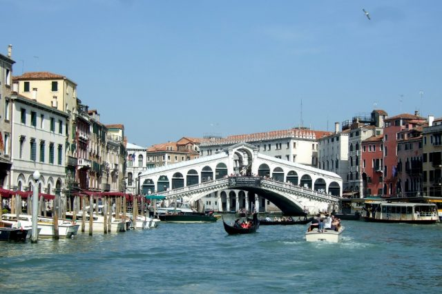 Rialto Bridge on the Grand Canal Photo by Margie Miklas