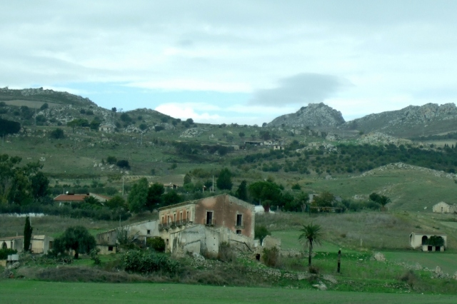 Sicilian countryside
