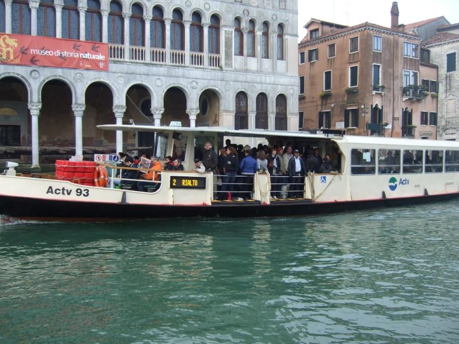 Vaporetto in Venice Photo by Margie Miklas