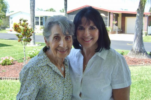 With my beautiful Mother Photo by Margie Miklas