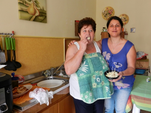 Antoinetta and Monica