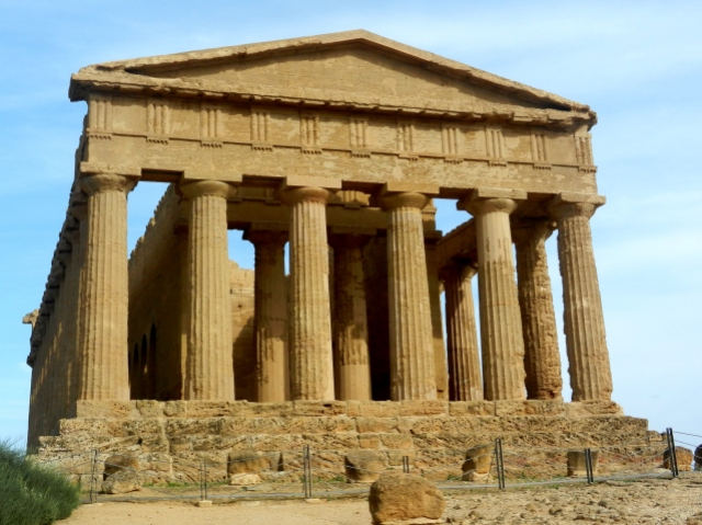Temple of Concordia Sicily Photo by Margie Miklas