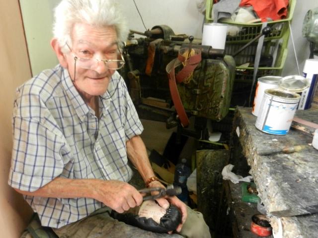Shoemaker in Palermo