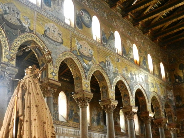 Monreale Cathedrale in Sicily Photo by Margie Miklas