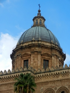 Palermo Cathedral Dome Photo by Margie Miklas