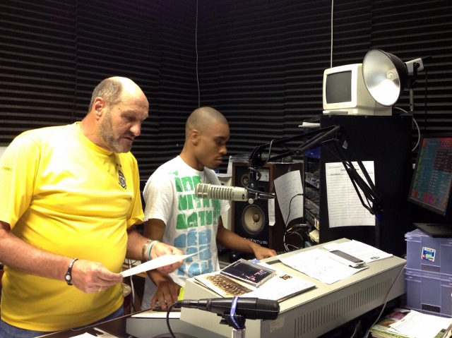 Jack Di Giorgio and Kenrick Rhomas in studio (640x479)