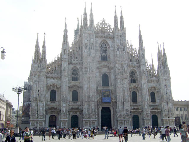 Milan duomo Photo by Margie Miklas