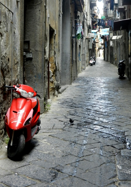 On the streets of Naples Photo by Margie Miklas
