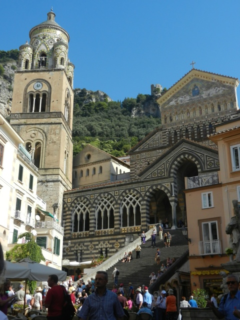 Cathedral in Amalfi - photo by Mrgie Miklas