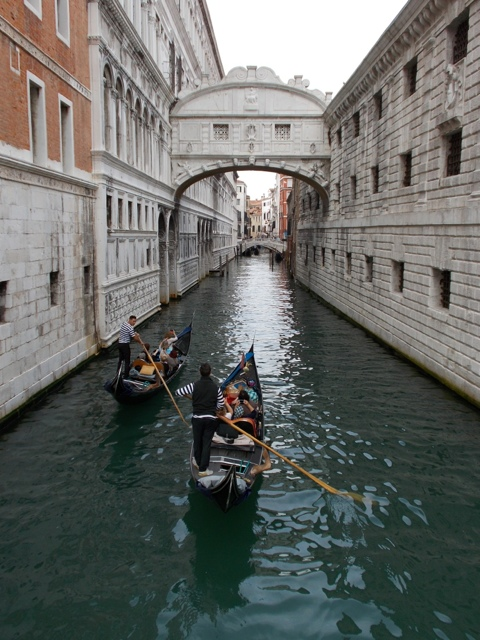 Bridge of Sighs in Venice, Italy ~ photo by Margie Miklas