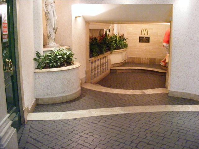 McDonald's in Rome in Piazza di Spagna 1st floor
