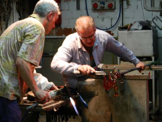 Glass makers in Murano - Photo by Margie Miklas