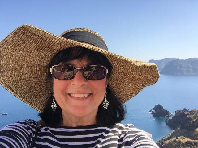 Margie in Italy Photo by Margie Miklas
