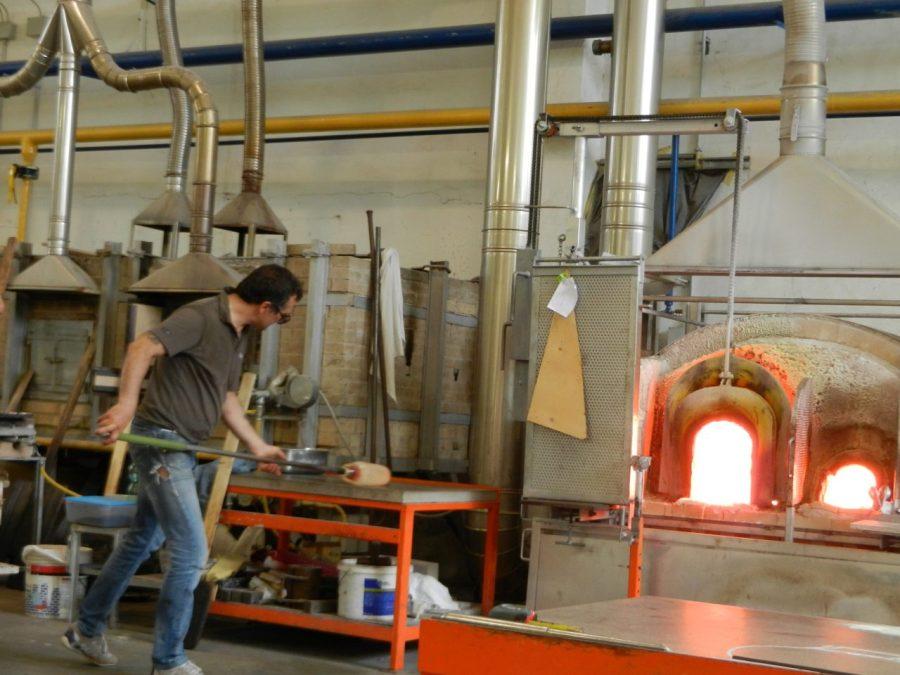 Glassmakers in Murano Photo by Margie Miklas