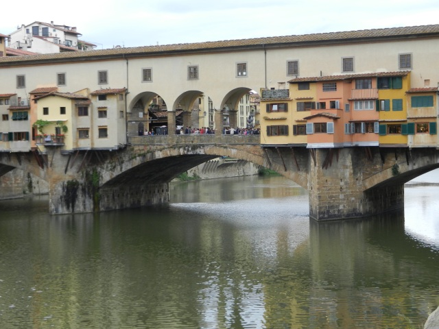 Ponte Vecchio in Florence Photo by Margie Miklas