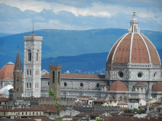 View of Duomo from Piazza Michelangelo