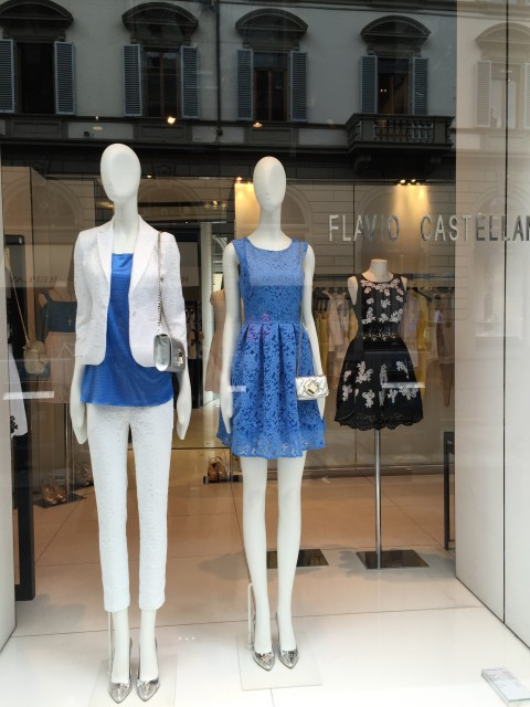 Latest designer fashions in Florence