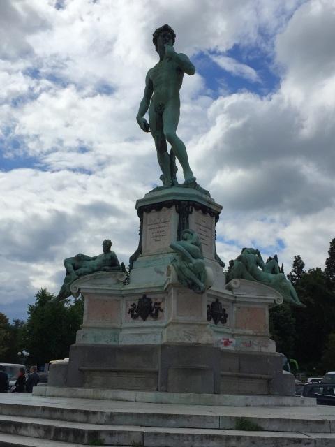 Statue of David at Piazza Michelangelo - Photo by Margie Miklas