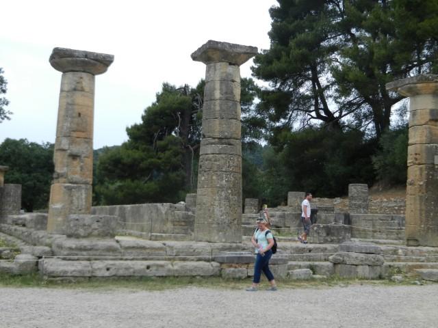 Olympia, Greece ~  Photo by Margie Miklas