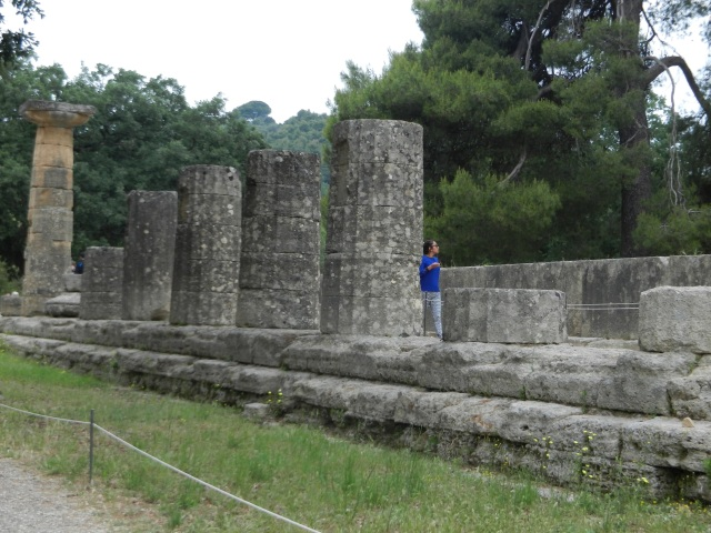 Olympia, Greece ~  Photo by Margie Miklas