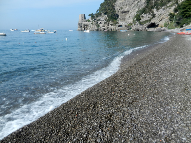 Fornillo Beach in Positano - Photo by Margie Miklas