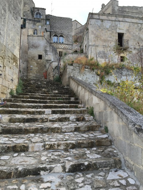 Staircase in Matera - Photo by Margie Miklas