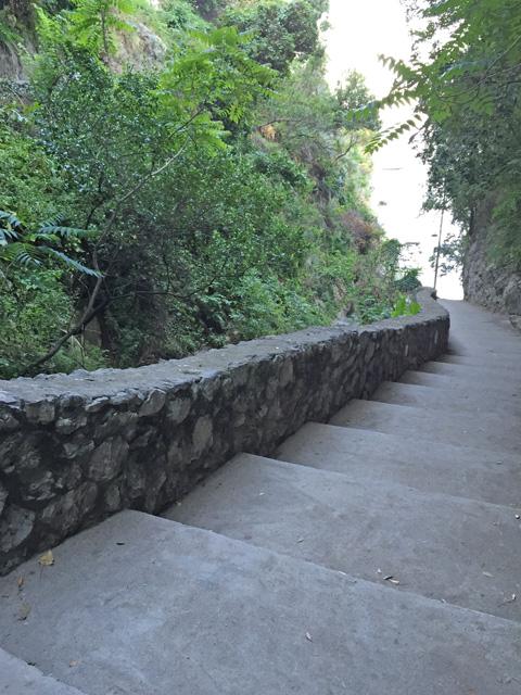 Positano stairs  - Photo by Margie Miklas