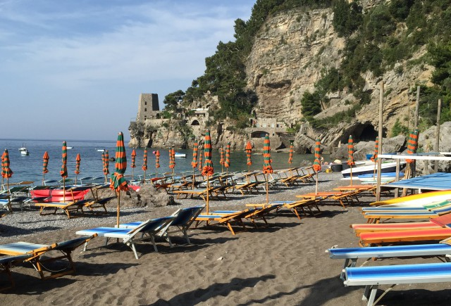Positano Fornillo Beach Photo by Margie Miklas